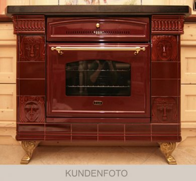 kf_herd.400 Photos of customers: Oven with red art and craft tiles Golem glaze.400.400