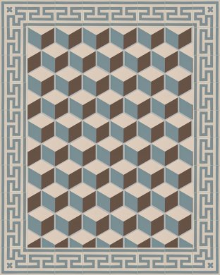 Carreaux hexagonal SF 317 A