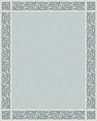 vb_sf17.14s Carreaux hexagonal SF 17.14 S