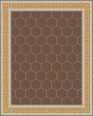 vb_sf17.24s Carreaux hexagonal SF 17.24 S
