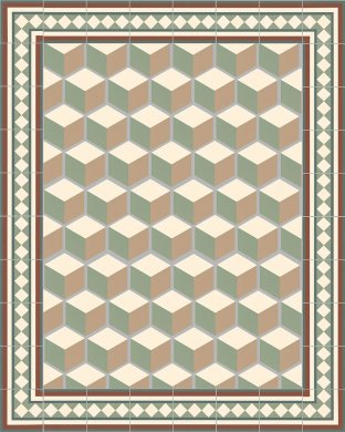 Carreaux hexagonal SF 317 S