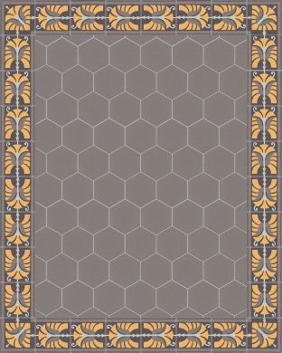vb_sf17.5 Carreaux hexagonal SF 17.5