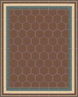 SF TG 11503 B ie + SF 17.9 Carreaux hexagonal SF 17.9