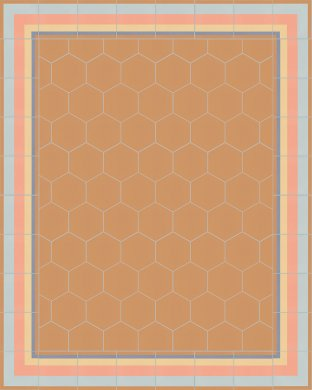 vb_sf17.8 Carreaux hexagonal SF 17.8