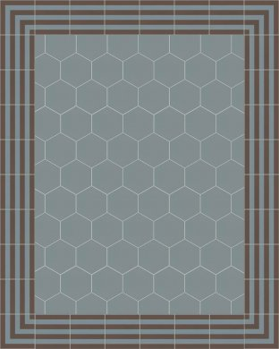 vb_sf17.13s Carreaux hexagonal SF 17.13 S