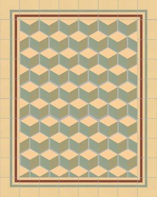 Carreaux hexagonal SF 317 I
