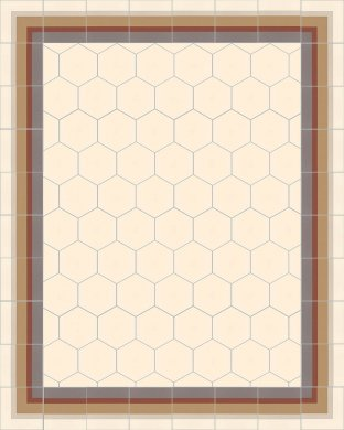 vb_sf17.1 Carreaux hexagonal SF 17.1
