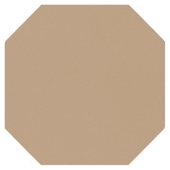 Achteckfliese SF 82 A.20, beige dunkel
