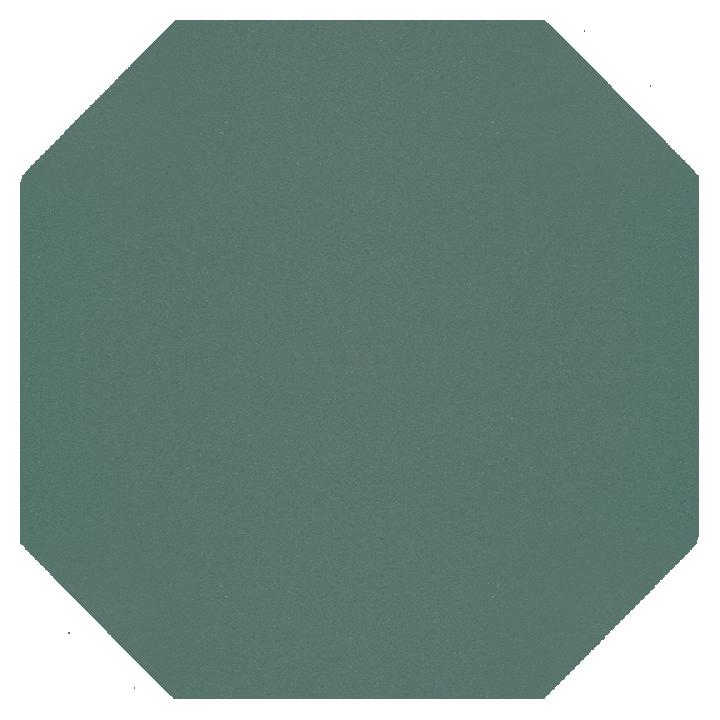 Achteckfliese SF 82 A.23, blaugrün hell