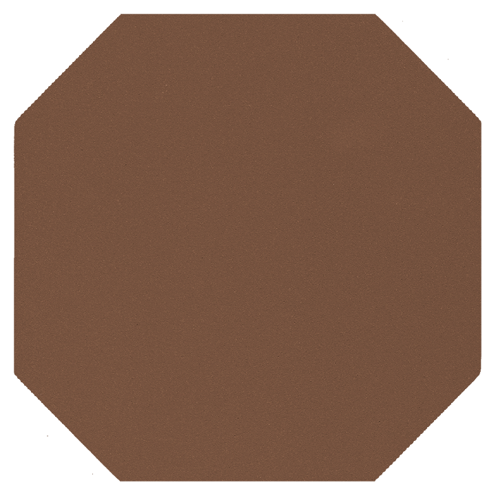 Carreau octogonal SF 82 A.24, hellbraun
