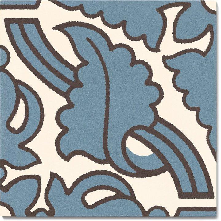 Stoneware tile SF 331L A, Historic Stoneware