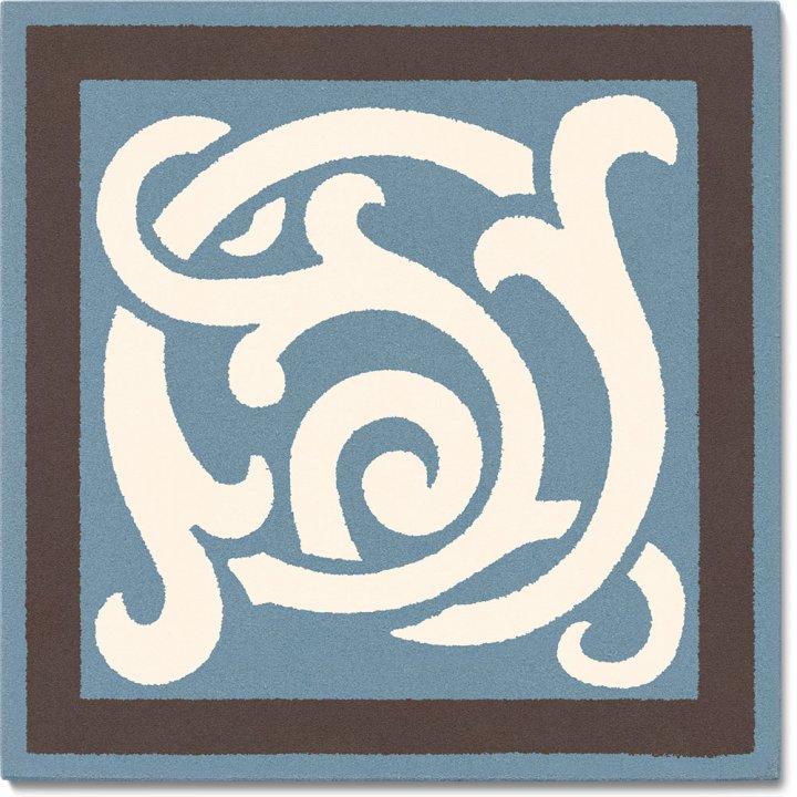 Steinzeugfliese SF 333 A e, Ornament
