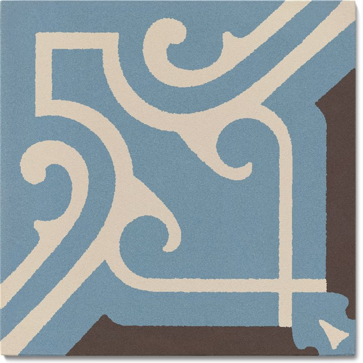 Stoneware tile SF 325 A, Historic Stoneware