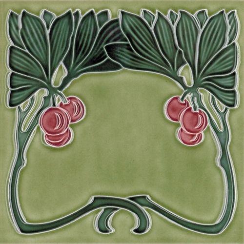 Art Nouveau tile F 166