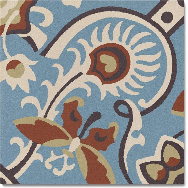 Steinzeugfliese SF 565 L, Ornament