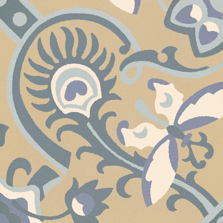 Steinzeugfliese SF 565 O, Ornament