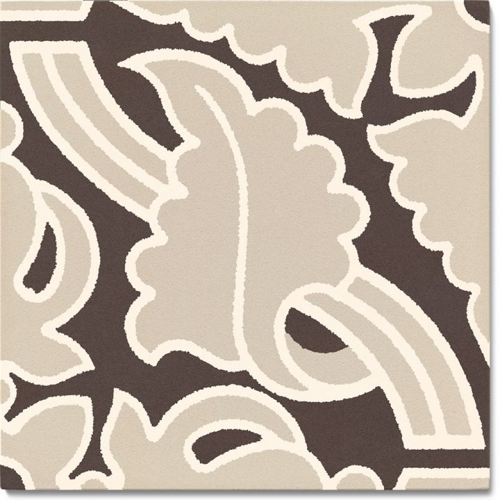 Steinzeugfliese SF 331L E, Ornament