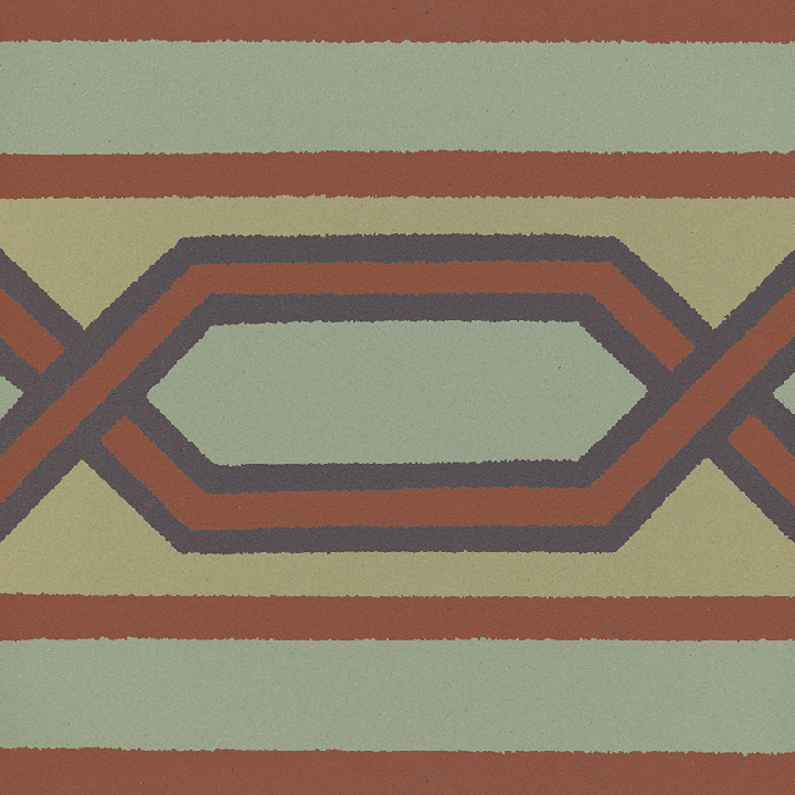 Carreau en grès SF 557 J, Ornement