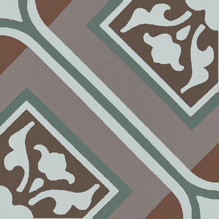 Steinzeugfliese SF 556 R, Ornament