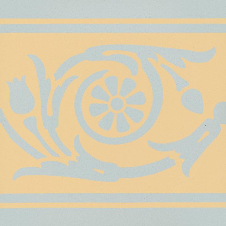Steinzeugfliese SF 208 N, Ornament
