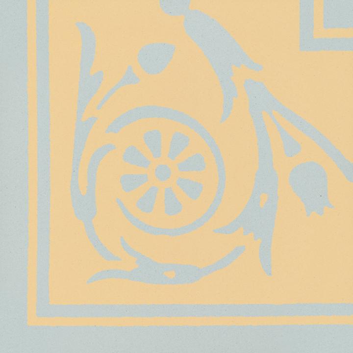 Steinzeugfliese SF 208 N e, Ornament