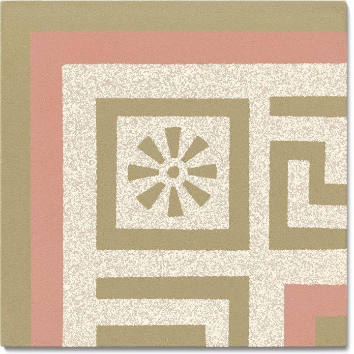 Stoneware tile SF 357 P e, Historic Stoneware