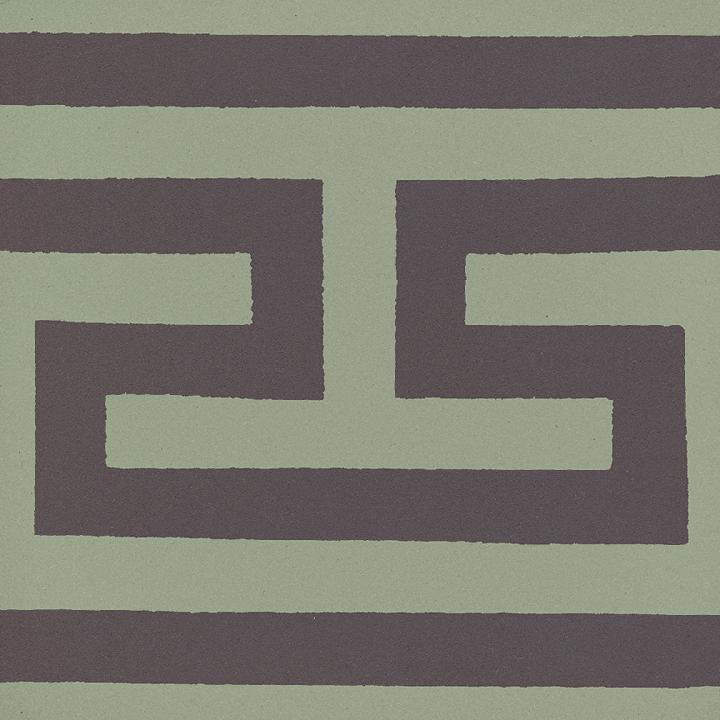 Steinzeugfliese SF 206 J, Ornament