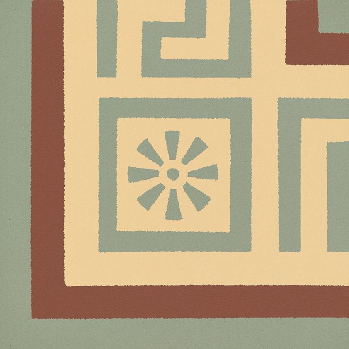 Stoneware tile SF 357 J e, Historic Stoneware