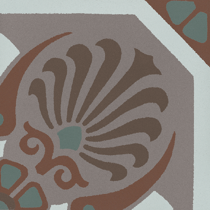 Steinzeugfliese SF 558 R, Ornament