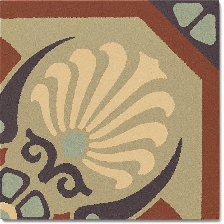 Stoneware tile SF 558 J, Historic Stoneware