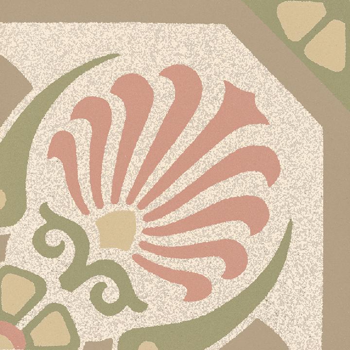 Stoneware tile SF 558 P, Historic Stoneware