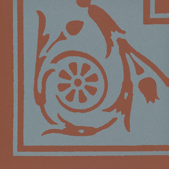 Steinzeugfliese SF 208 L e, Ornament