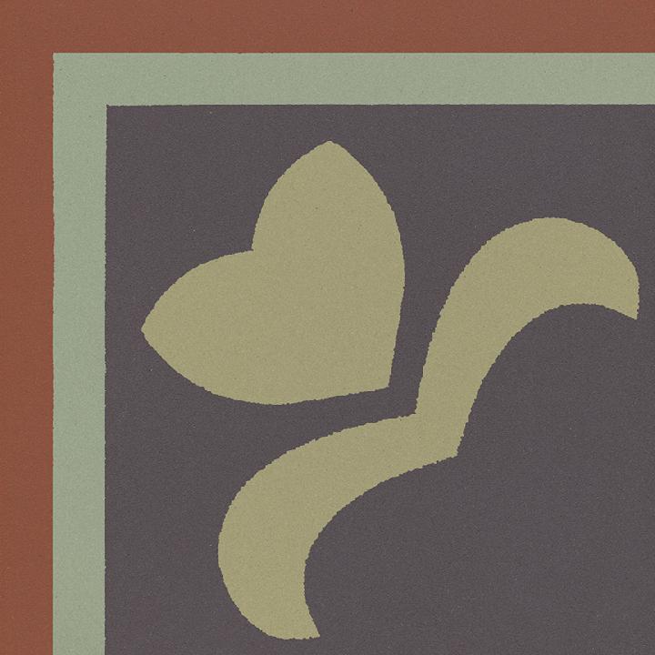 Steinzeugfliese SF 303 J e oben, Ornament