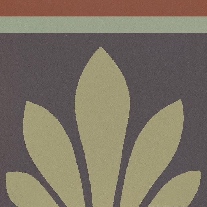 Steinzeugfliese SF 304 J oben, Ornament