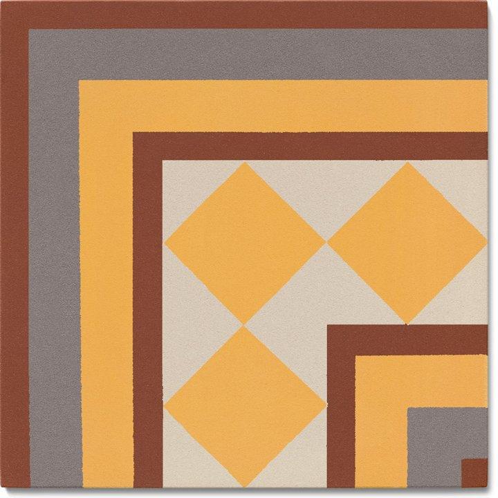 Stoneware tile SF 401 K e, Historic Stoneware