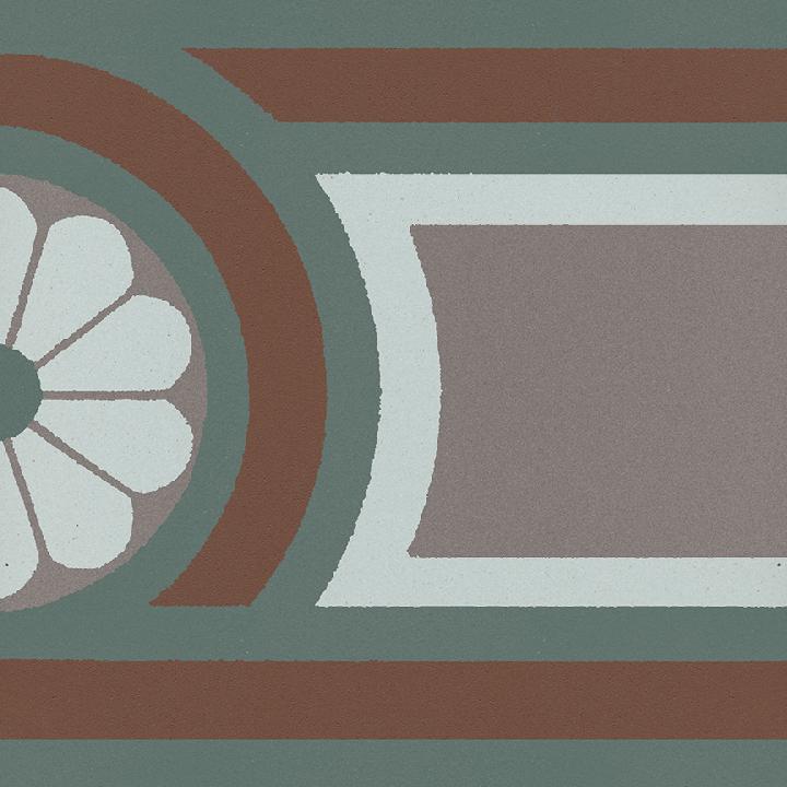Stoneware tile SF 504 R, Historic Stoneware