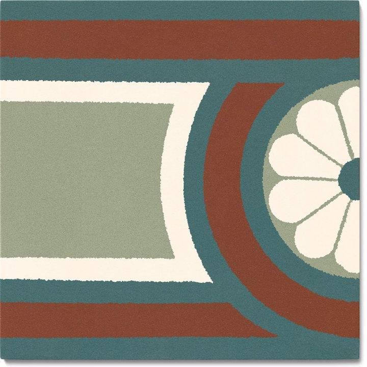 Stoneware tile SF 504 S, Historic Stoneware
