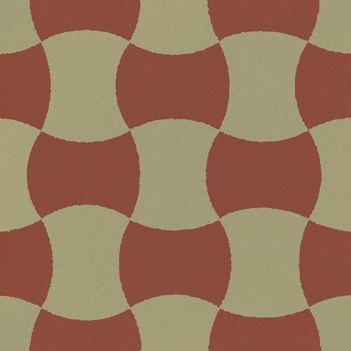 Stoneware tile SF 259 I, Historic Stoneware
