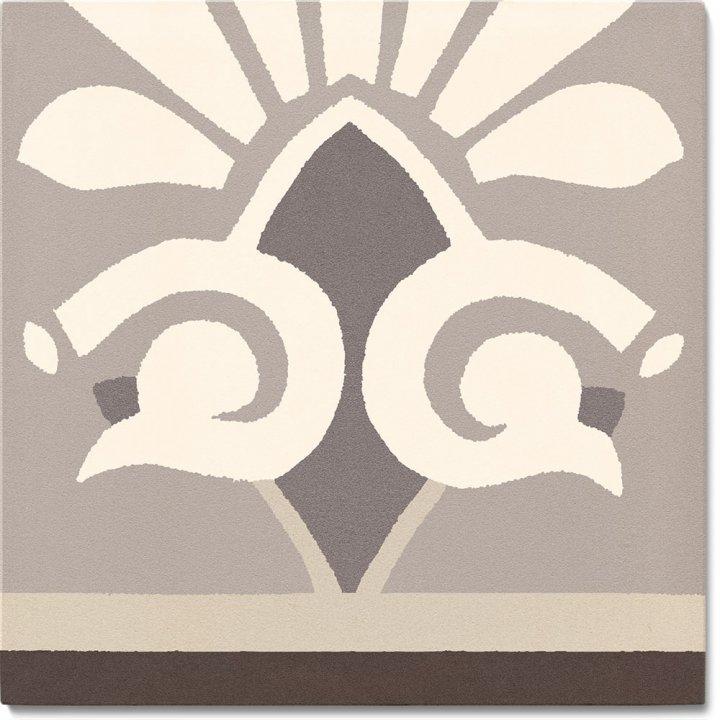 Stoneware tile SF 304 E unten, Historic Stoneware