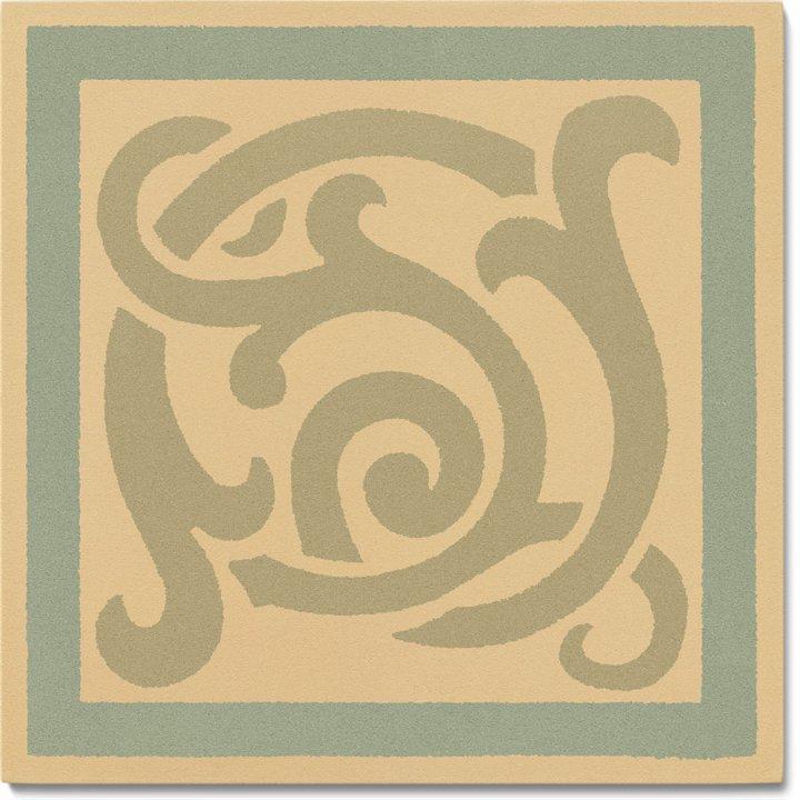 Stoneware tile SF 333 I e, Historic Stoneware