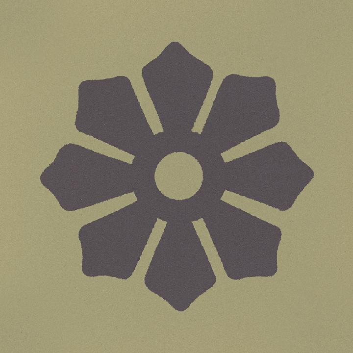 Carreau en grès SF 244 J, Ornement
