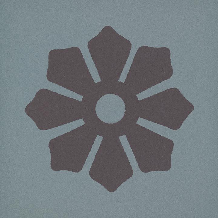 Steinzeugfliese SF 244 L, Ornament