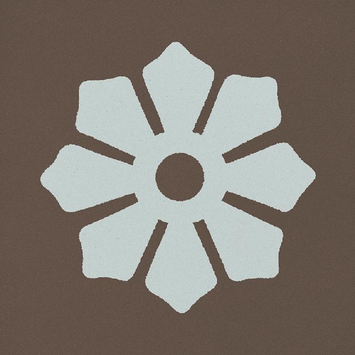 Steinzeugfliese SF 244 R, Ornament
