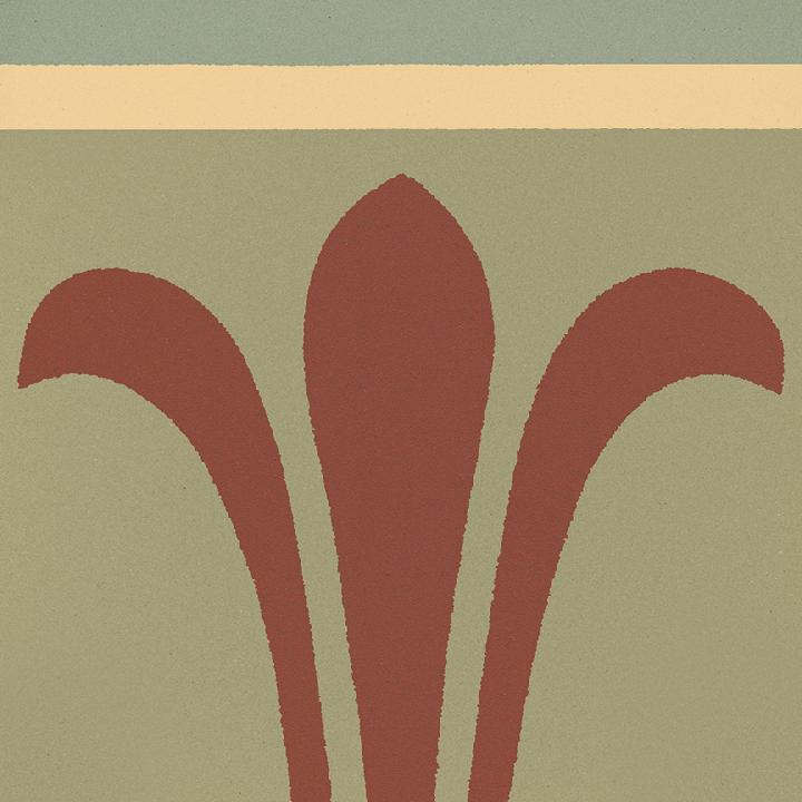 Steinzeugfliese SF 303 I oben, Ornament