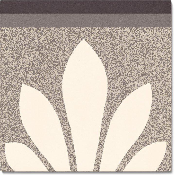 Stoneware tile SF 304 C oben, Historic Stoneware