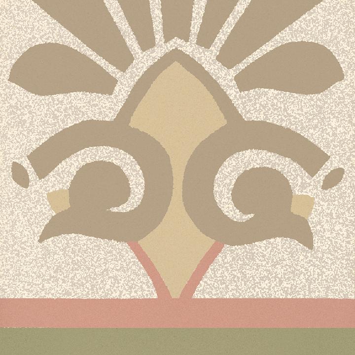 Carreau en grès SF 304 P unten, Ornement