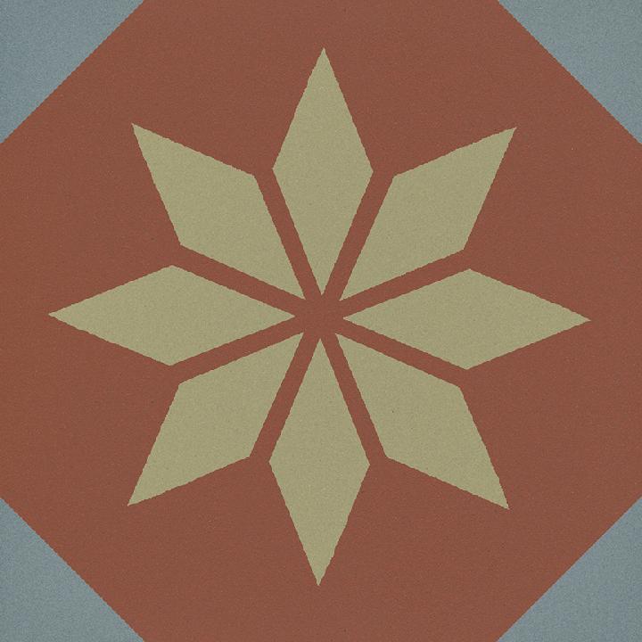 Steinzeugfliese SF 308 L, Ornament