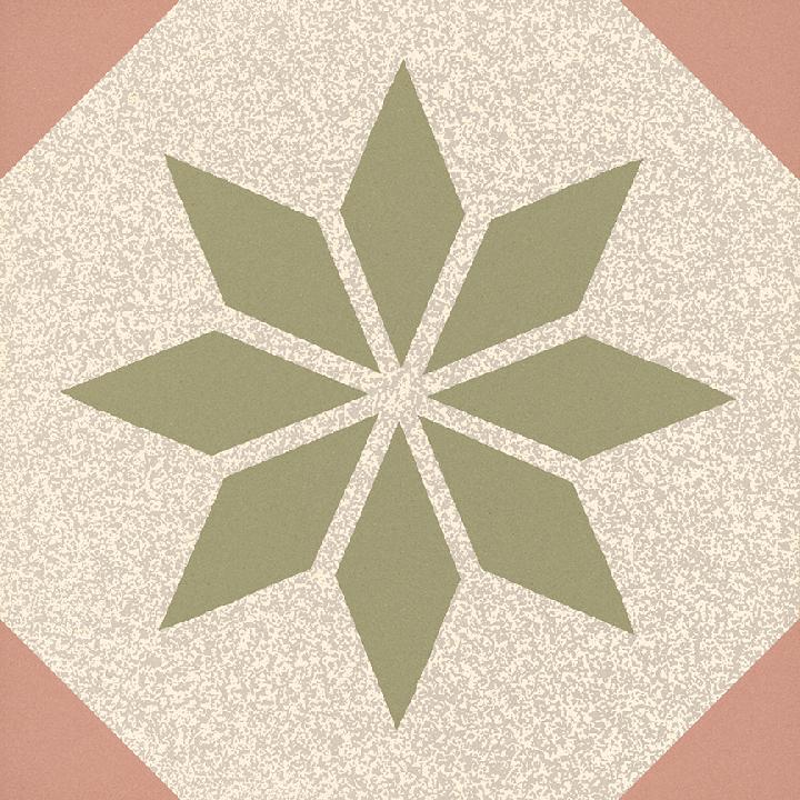 Steinzeugfliese SF 308 P, Ornament