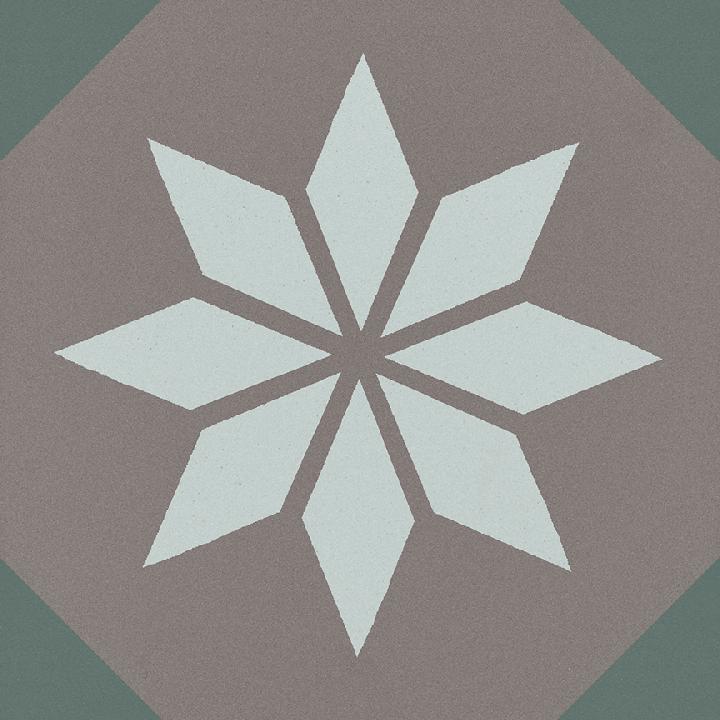 Steinzeugfliese SF 308 R, Ornament