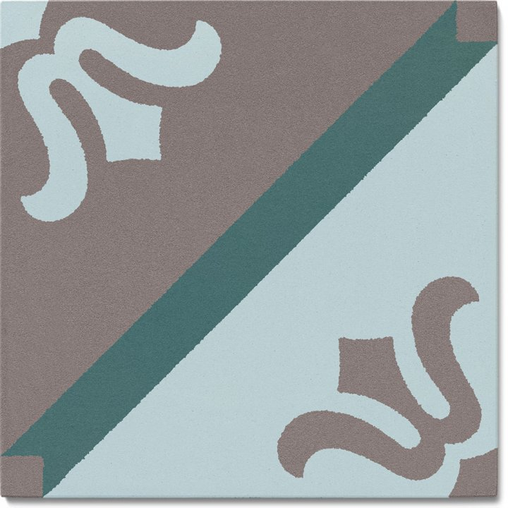 Stoneware tile SF 323 R, Historic Stoneware